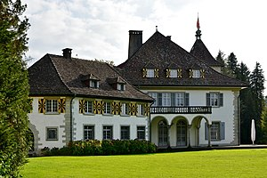 Wädenswil - Schloss Au on the Au peninsula
