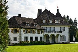 Wädenswil - Schloss Au on the Au peninsula