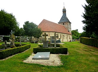 Aubry-le-Panthou - The church in Aubry-le-Panthou