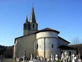 Audignon - The church of Audignon