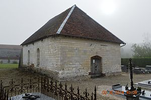 Aulnay, Aube - The rebuilt Church of Saint-Rémy