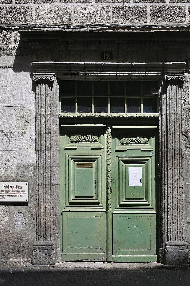 Monument historique à Aurillac