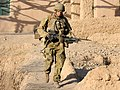 Australian Army soldier armed with a FN MAG machine gun in Afghanistan during 2010 - cropped.jpg