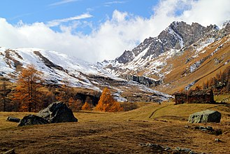Gran Paradiso National Park - The Park in autumn