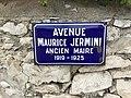 Avenue Maurice Jermini (ancien maire) à Cassis, France.jpg