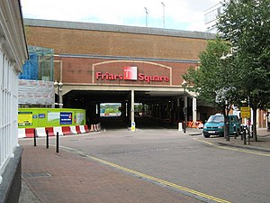 Friars Square - Entrance to the bus station