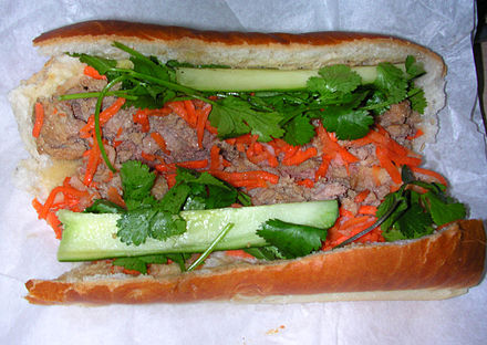 The delicious BANH MI