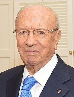 Beji Caid Essebsi Tunisian politician