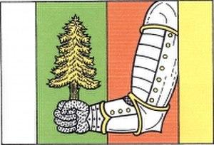 Býšovec - Image: Býšovec, vlajka