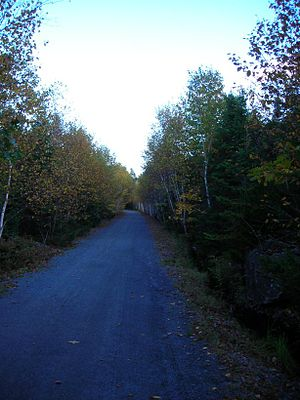 Timberlea, Nova Scotia - BLT-Trail near Timberlea.