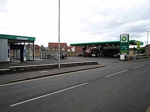 Jamestown, West Dunbartonshire - Image: BP filling station Jamestown geograph.org.uk 438217