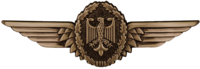 BW Tätigkeitsabzeichen Militärluftfahrzeugführer