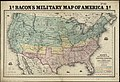 Bacon's military map of the United States shewing the forts and fortifications (10175547726).jpg