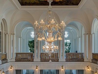 First floor in the foyer of the Regentenbau of Bad Kissingen