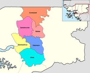 Sectors of Guinea-Bissau - Sectors of Bafata