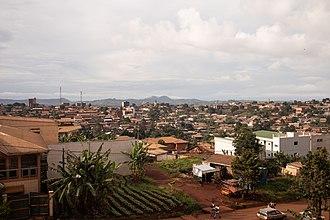 Bafoussam - View from Baptist Health Center