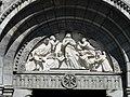 Bagnères-de-Luchon église portail tympan.JPG