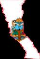 Baja California Flag Map.png
