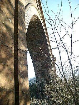 Ballochmyle Viaduct - Image: Ballochmyle Viaduct