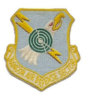 Topsham Air Force Station - Emblem of the Bangor Air Defense Sector