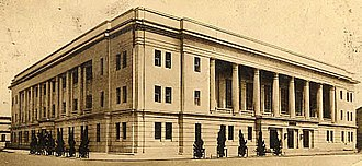 Bank of Taiwan - Newly built Bank of Taiwan Head Office Building in 1939