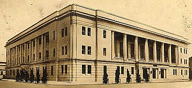 Bank of Taiwan established in 1897 and headquartered in Taihoku Bank of Taiwan Head Office Building 1940.jpg