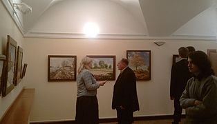 Barkhatkovs Exhibition in the Czech embassy in Minsk 15.02.2011 01.jpg
