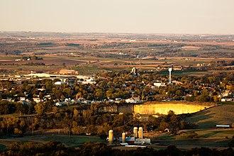 Barneveld, Wisconsin - Image: Barneveld, Wisconsin 101109