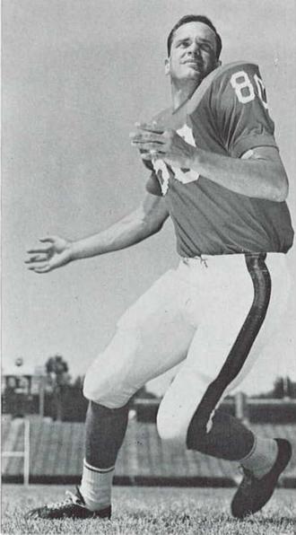 Barry Brown (American football) - Brown from 1965 Seminole yearbook