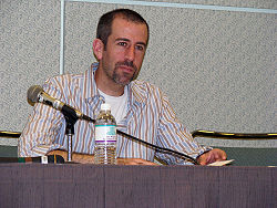 Levy at the 2008 Screenwriting Expo