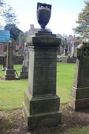 John Bartholomew Sr. - Bartholomew grave, Grange Cemetery, Edinburgh