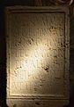 Base d'estàtua dedicada a un senador, segle III dC. Museu d'Història de València.JPG