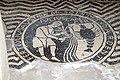 Basilica di San Savino (Piacenza), mosaico con segni zodiacali entro medaglioni, prima metà del secolo xii 12.jpg