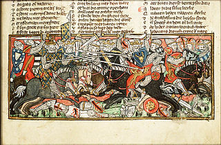 battle between the Franks commanded by Clovis and the Visigoths commanded by Alaric II
