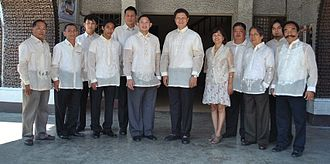 Bauang - Eulogio Clarence Martin P. de Guzman III and Elected Officials