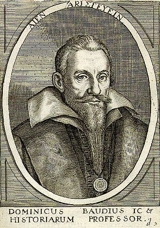 Dominicus Baudius - Dominicus Baudius, portrait from the Bibliotheca chalcographica, part 6, Frankfurt a.M. 1669