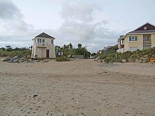 Rosslare Strand Village in Leinster, Ireland