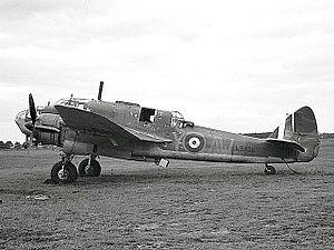 Bristol Beaufort - Beaufort L9938 of 42 Squadron.
