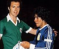 Beckenbauer and maradona 1978.jpg