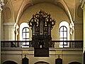 Beckov église conventuelle orgue.jpg