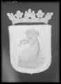 Begravningsbanér, Skåne, förd i Karl X Gustavs begravningståg 1660 - Livrustkammaren - 27463.tif