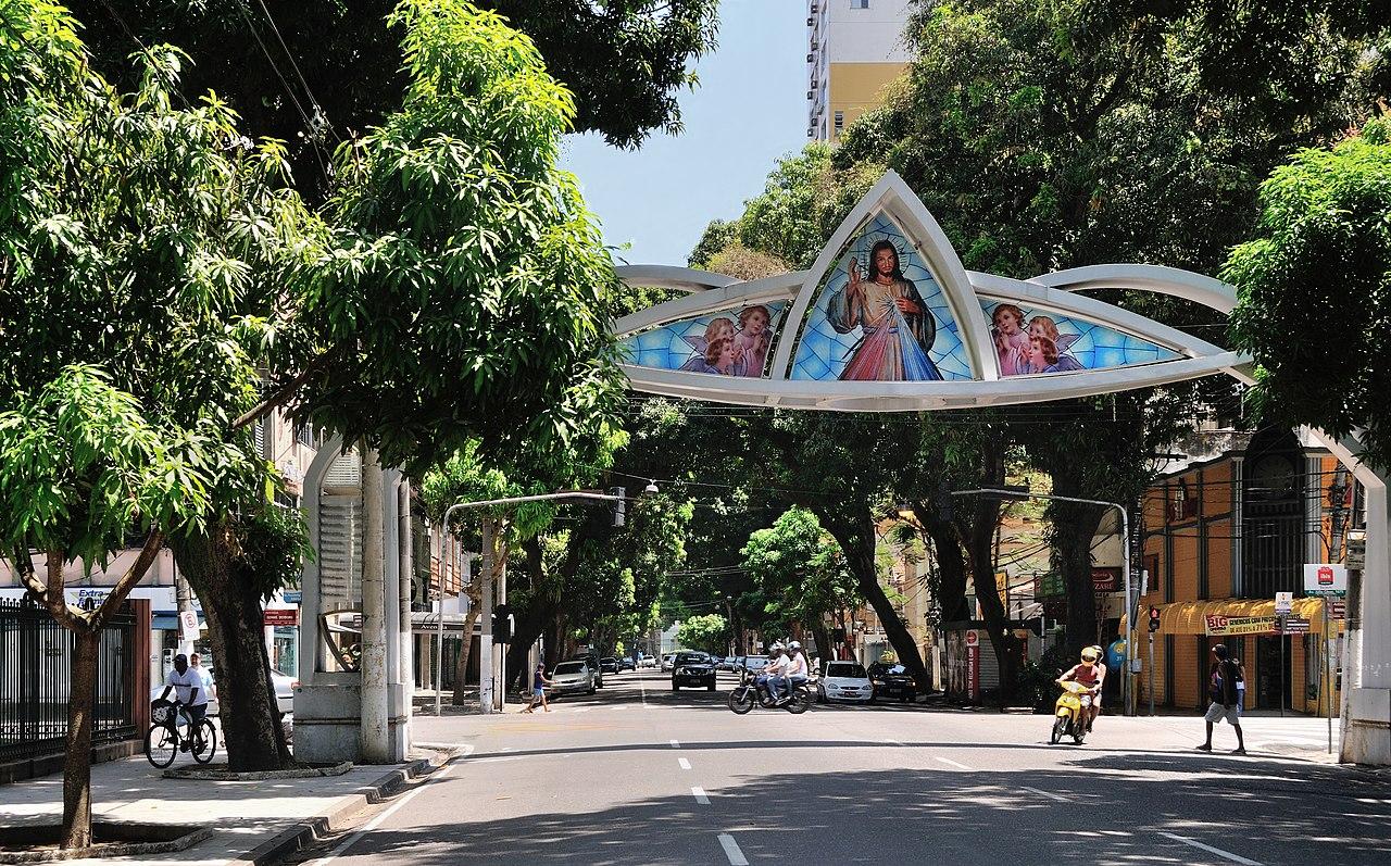 Arco do Círio na Avenida Nossa Senhora de Nazaré