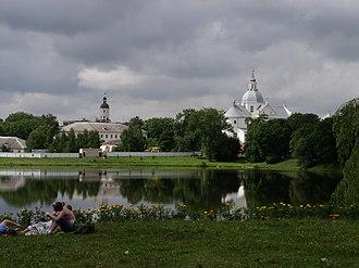 Nyasvizh - Image: Belarus Niasvizh Panorama