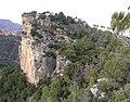 Beliebte Klippe unter Kletterern. Popular cliff amongst rock climbers. Acantilado popular entre los escaladores. - panoramio.jpg