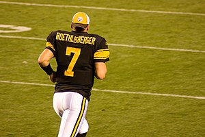 Quarterback Ben Roethlisberger of the Pittsbur...