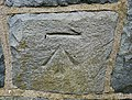 Bench Mark, Drumbo - geograph.org.uk - 1746615.jpg