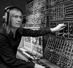 Benge (musician) - Benge in his studio, London, 2008