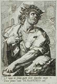 Benjamin Biblical figure and son of Jacob