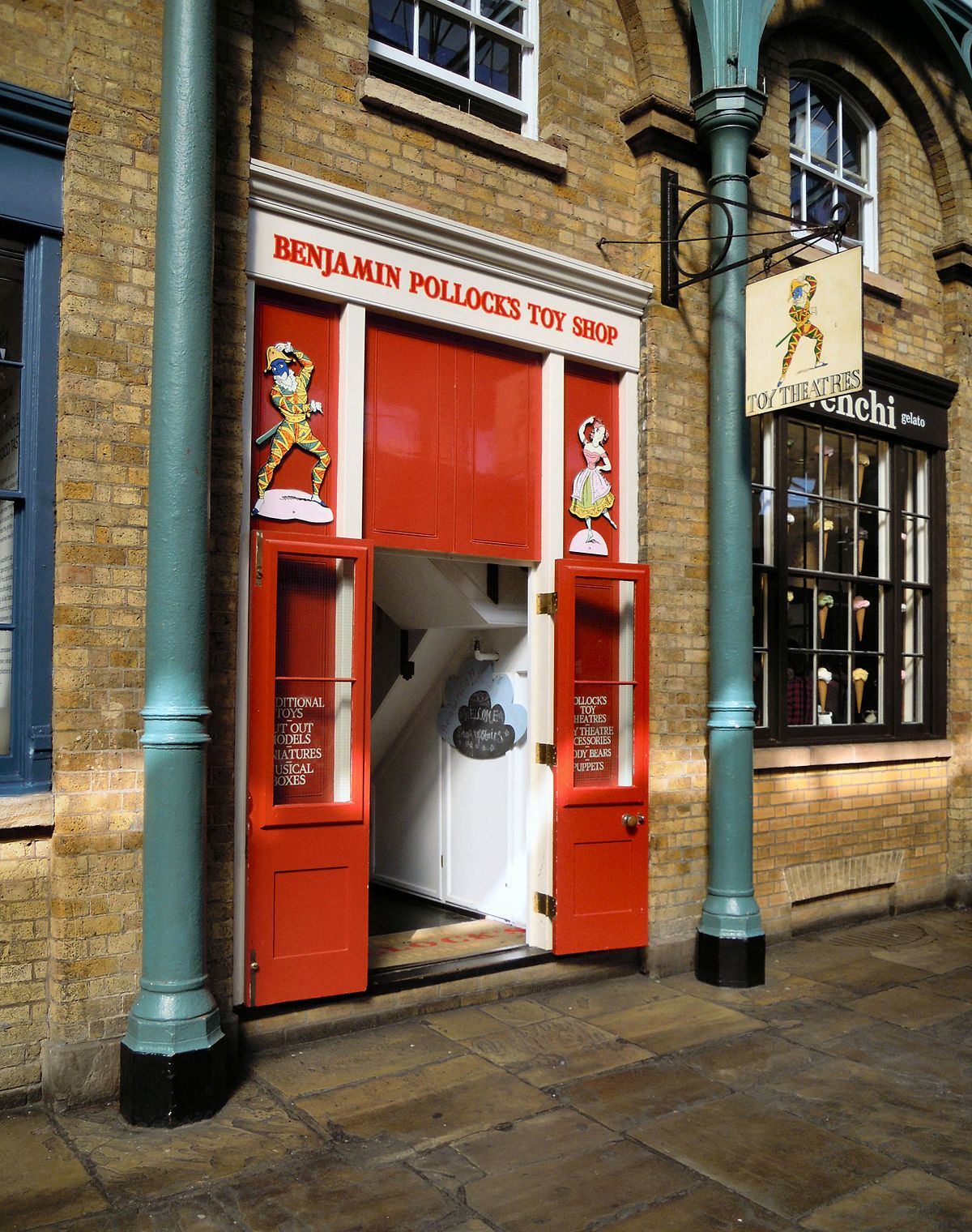 Benjamin Pollock 39 S Toy Shop Wikipedia