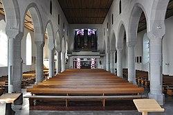 Berg bei RV Pfarrkirche Blick zur Orgel 1.jpg